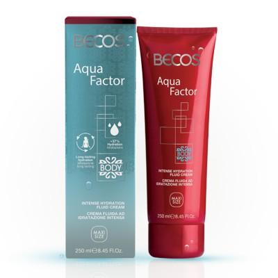 Aqua Factor Intensive Moisturizing Fluid Body Cream