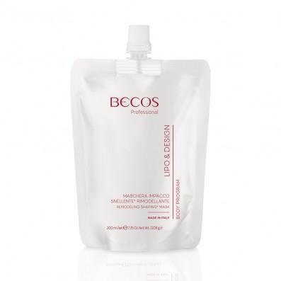 LIPO & DESIGN Slimming Remodeling Pack Mask 5 Einzeldosis 200 ml